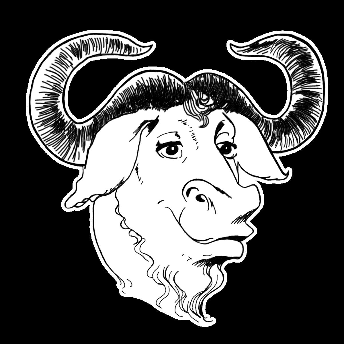 Logo de GNU Linux