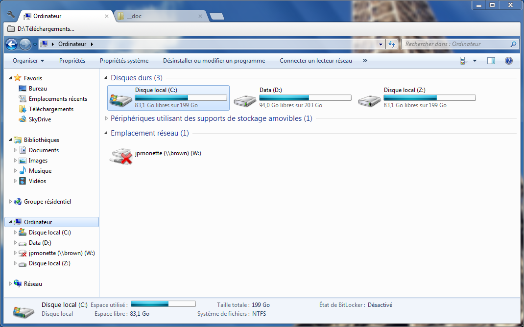 Onglets dans l'explorateur Windows grâce à Clover