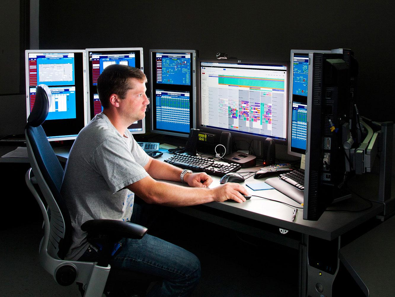 Poste de commande du centre de données de Google à Comté de Mayes, Oklahoma