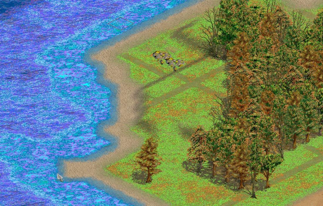 Problème de couleurs Age of Empires II